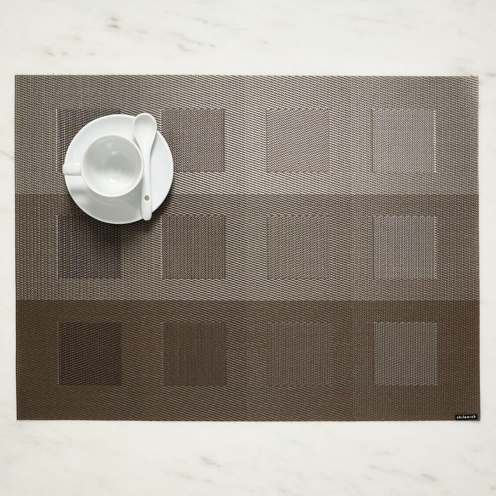 "Chilewich Mixed Weave Luxe Placemat, 19"" x 14"""