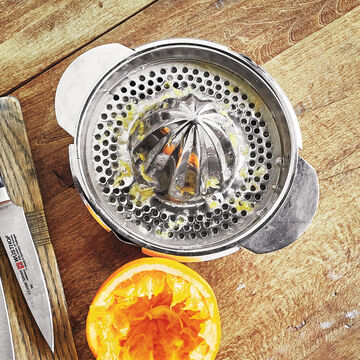 Sur La Table Stainless Steel Citrus Juicer, 13 oz.