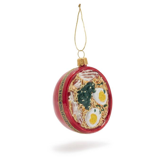 Ramen Bowl Glass Ornament