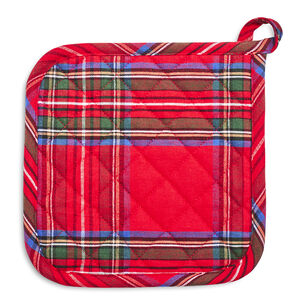 Christmas Plaid Pot Holder