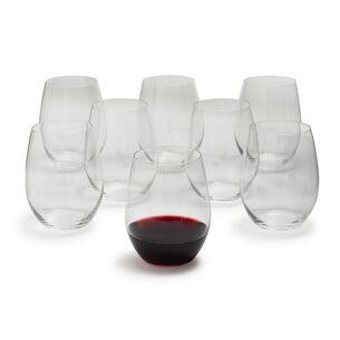 Riedel O Merlot Stemless Wine Glasses, Set of 8