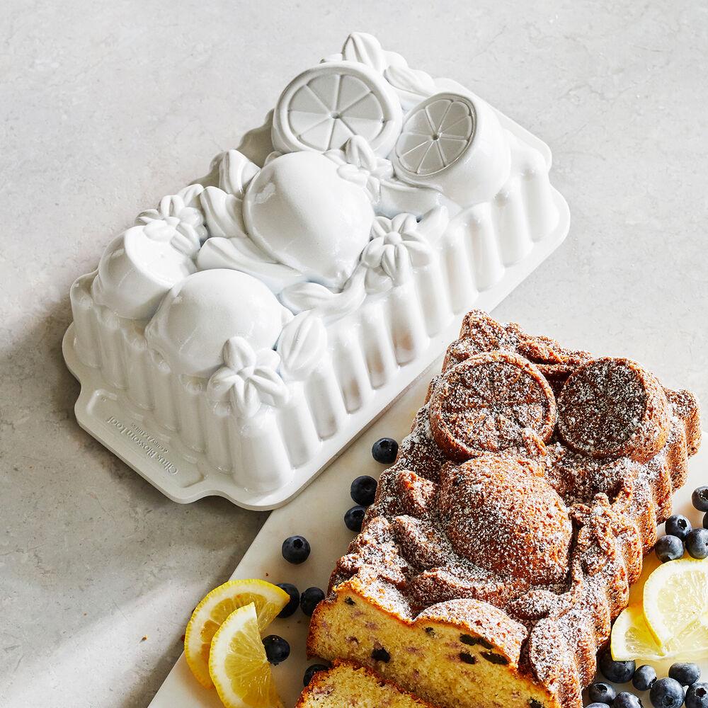 Nordic Ware Citrus Blossom Loaf Pan