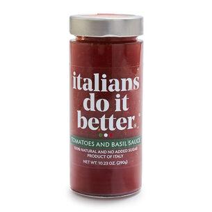Italians Do It Better Tomatoes & Basil Pomodoro Sauce, 10.23 oz.