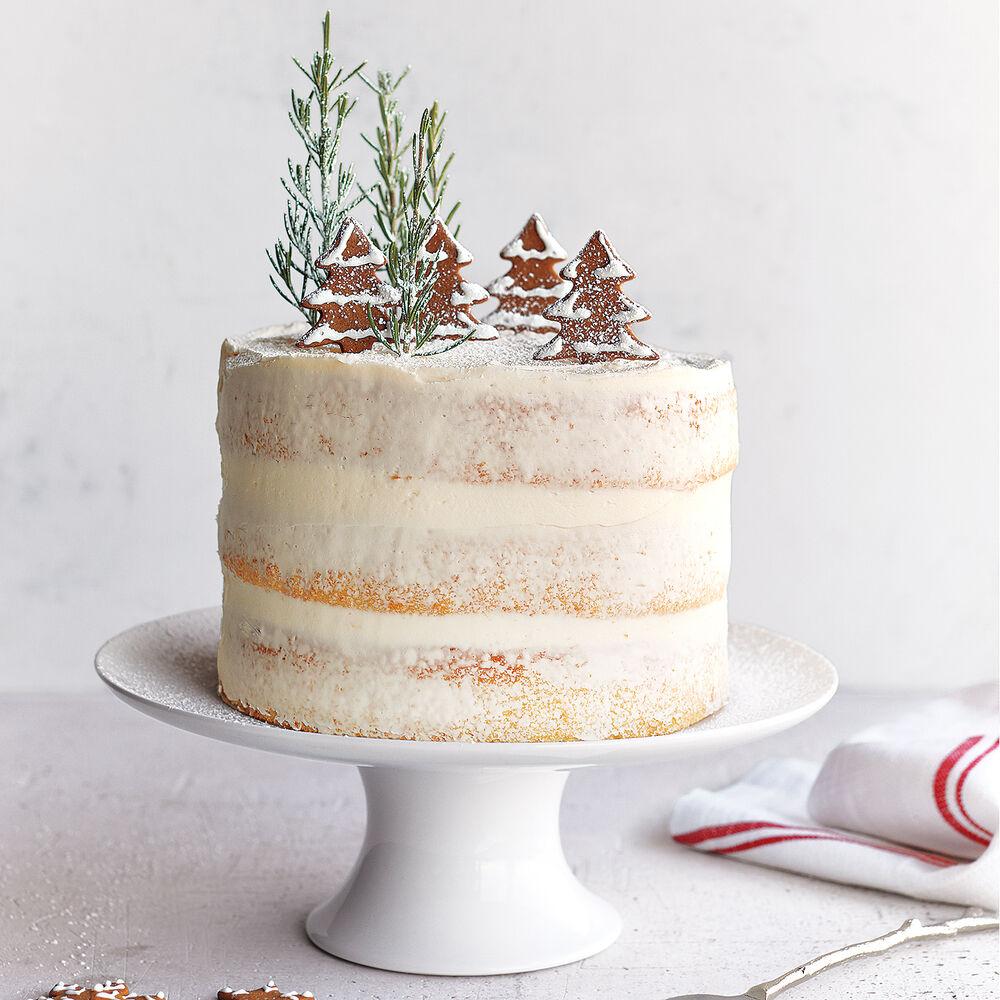 "Porcelain Cake Stand, 12.5"""