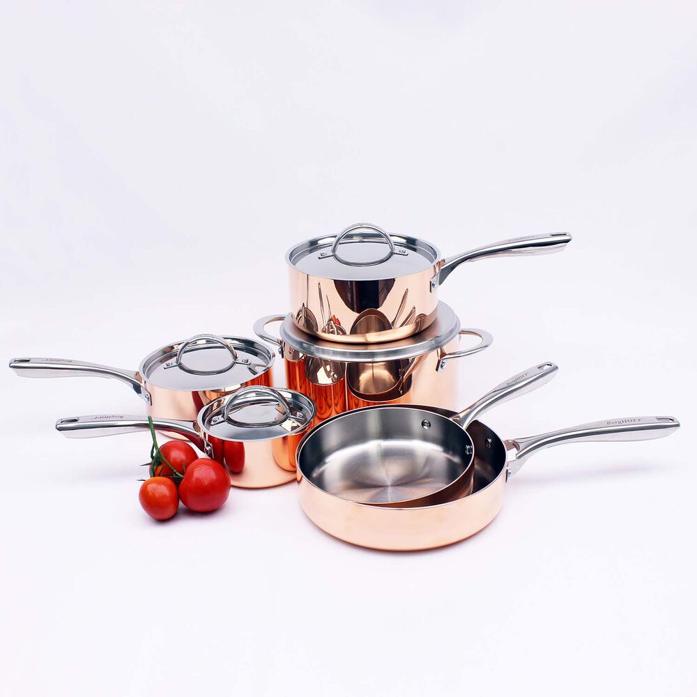 BergHOFF Vintage 10-Piece Copper Cookware Set
