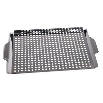 "Stainless Steel Grill Grid, 17""x11"""