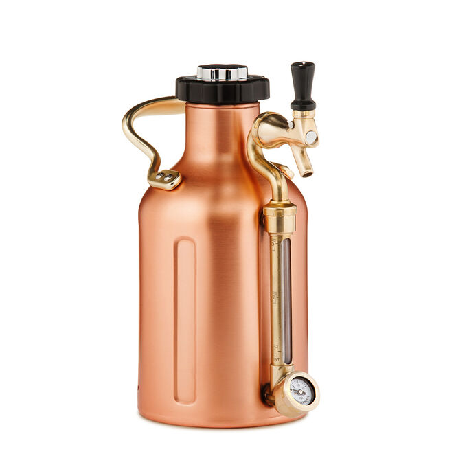 uKeg Stainless Steel Growler by GrowlerWerks, 64-oz.