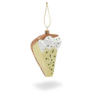Key Lime Pie Glass Ornament