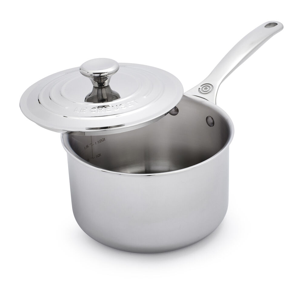 Le Creuset Stainless Steel Saucepan