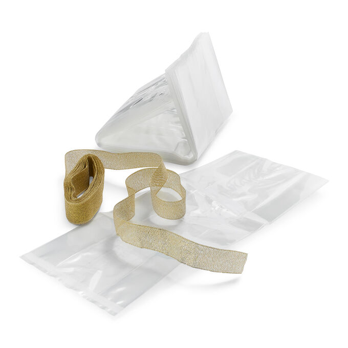 Cellophane Bags & Ribbon Packaging