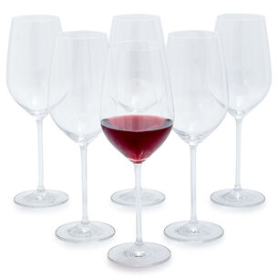Schott Zwiesel Fortissimo Full-Red Wine Glasses, Set of 6