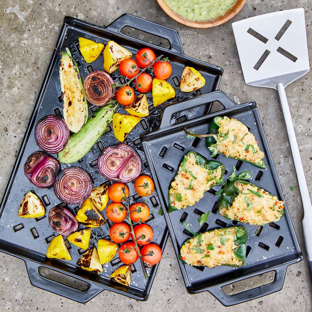 Sur La Table Pro Ceramic Grill Grids, Set of 2