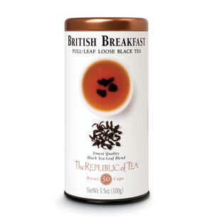 The Republic of Tea British Breakfast Full Leaf Loose Tea, 3.5 oz.