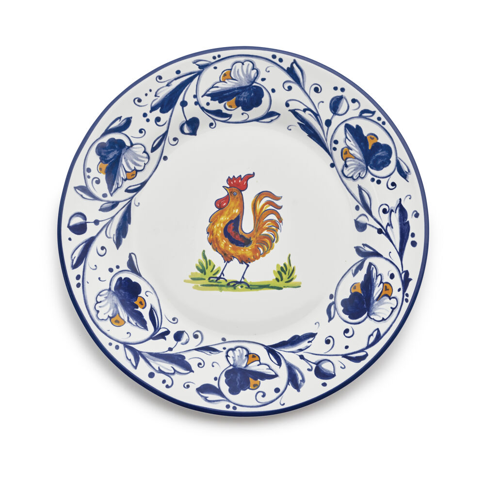Nova Deruta Rooster Salad Plate