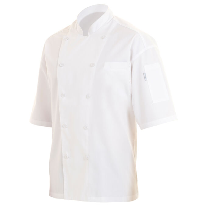 Chef Works White Short-Sleeve Chef Coats