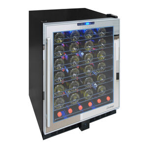 Vinotemp Touch-Screen Display Mirrored Wine Cooler, 54 Bottle