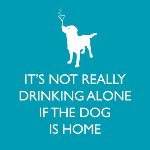 If Dog Is Home Paper Cocktail Napkins, Set of 20