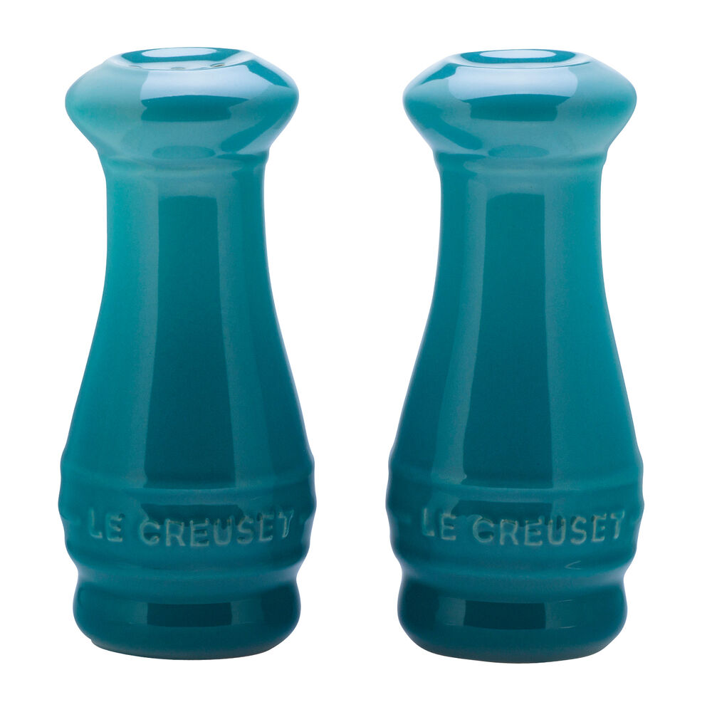Le Creuset Salt and Pepper Shakers