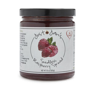 Just Jan's Raspberry Jam, 10 oz.