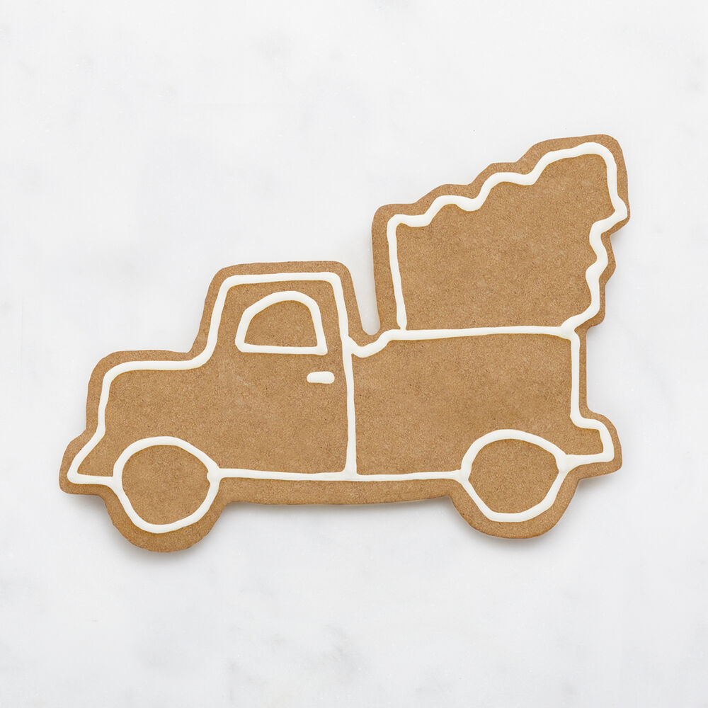 Vintage Truck with Tree Cookie Cutter
