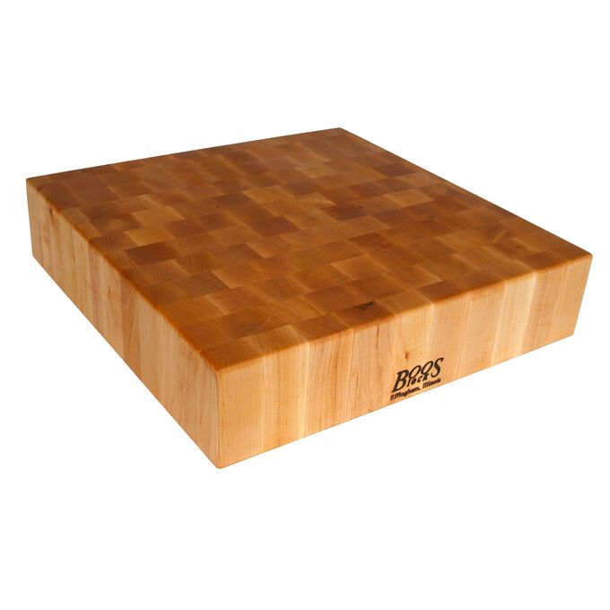 John Boos & Co.® Walnut End-Grain Cutting Board