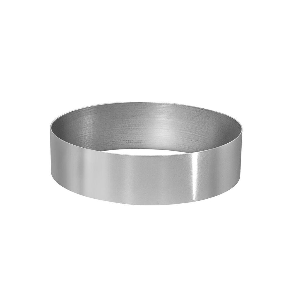 """Aluminum Cake Rings, 3"""" x 2"""""""