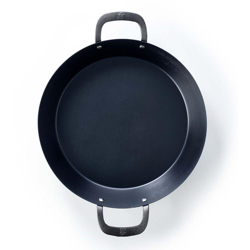"""BK Black Steel Paella Pan, 15"""""""