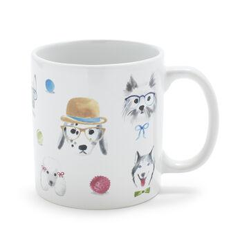 Dogs Mug, 14 oz.