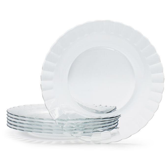 Duralex Paris Plate, Set of 6