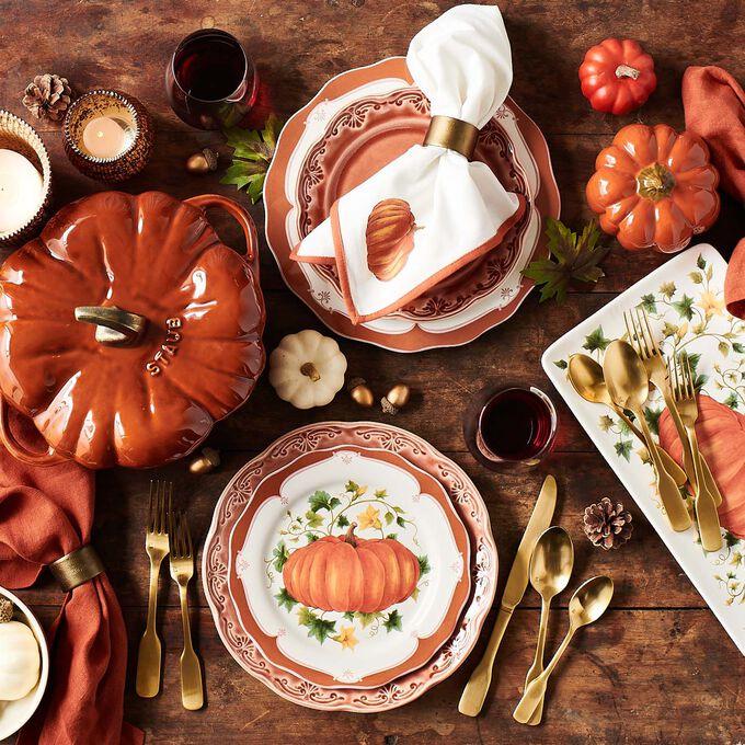 Pumpkin Dinner Plate