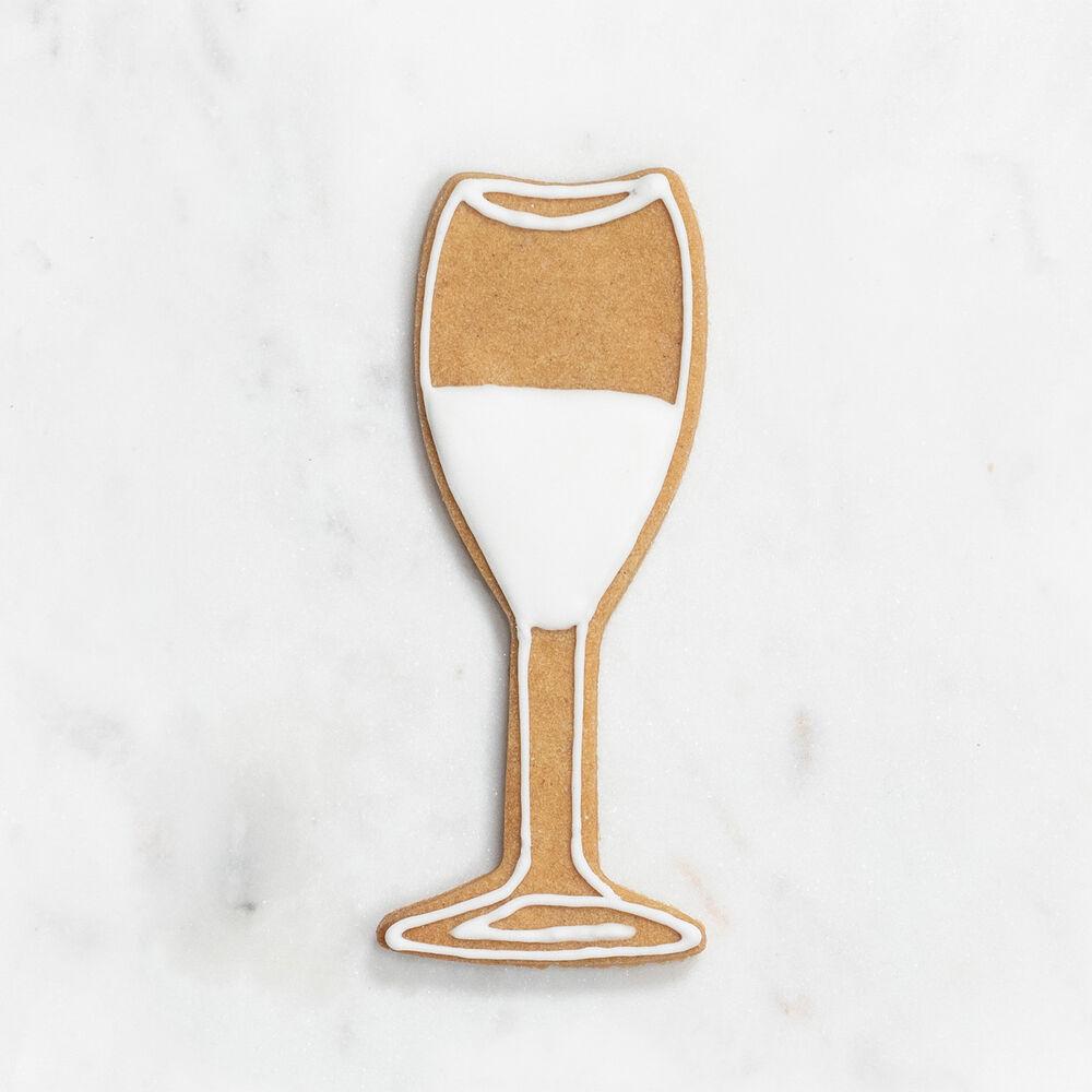 "Wine Glass Cookie Cutter, 4"""