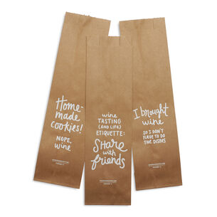 Paper Wine Bags, Set of 3