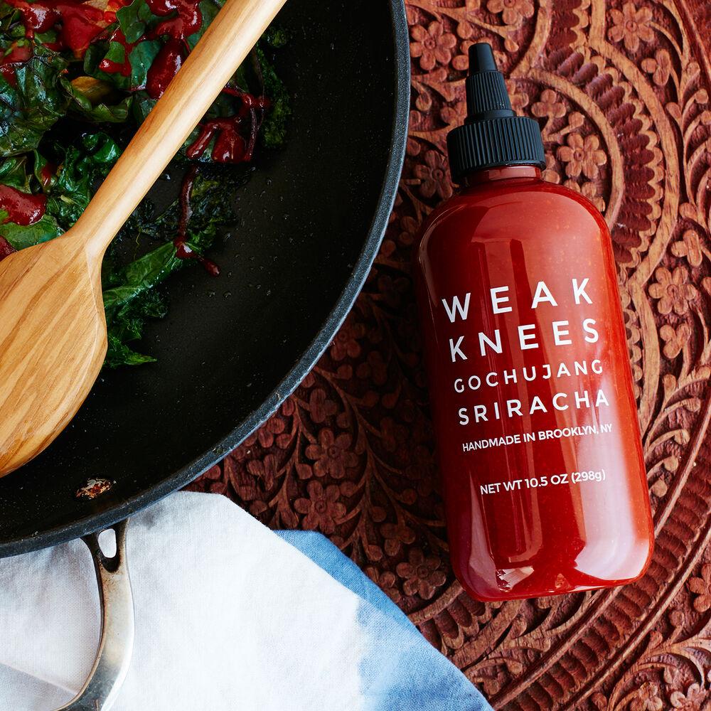 Bushwick Kitchen Weak Knees Gochujang Sriracha