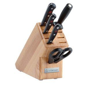 Wusthof Gourmet 6-Piece Starter Block Set, Natural