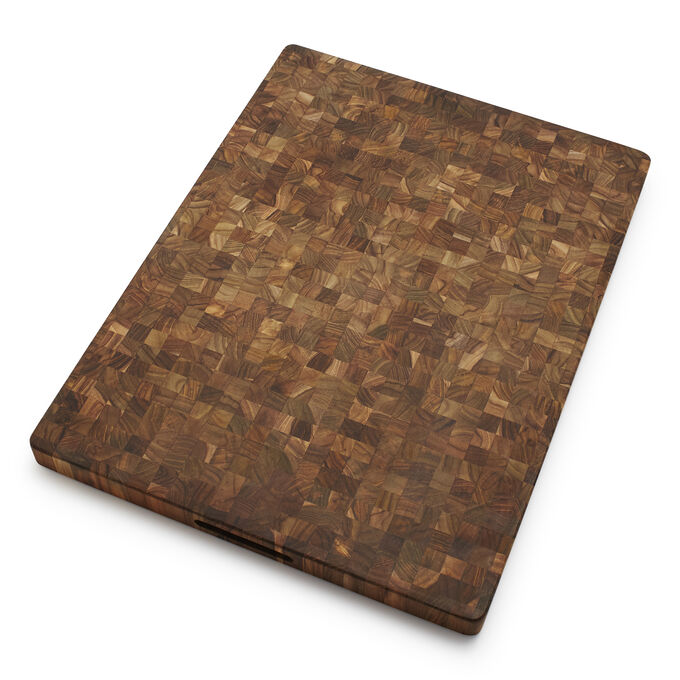 Teakhaus Reversible Teak End-Grain Cutting Board