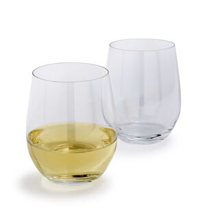 Riedel O Chardonnay Stemless Wine Glasses, Set of 2
