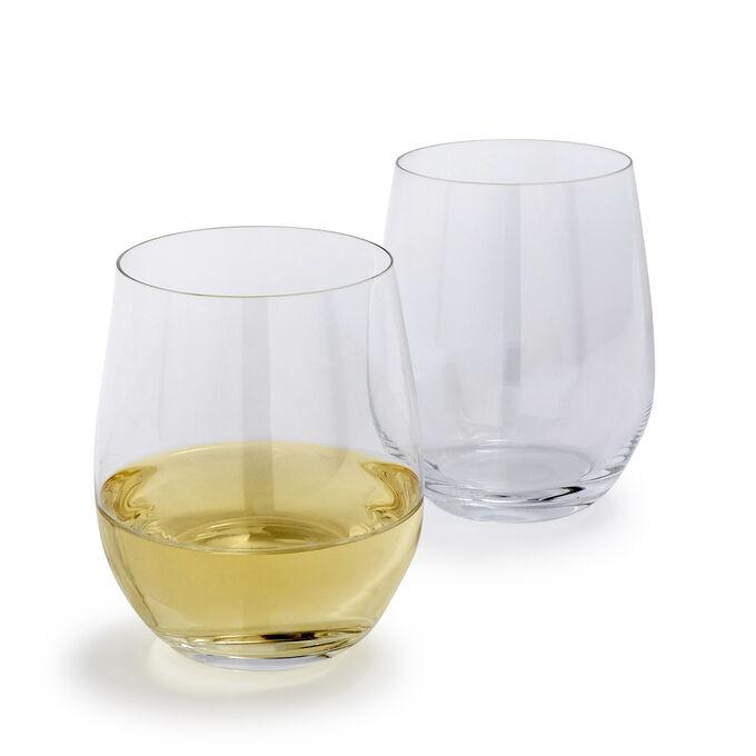 Riedel O Chardonnay Stemless Wine Glasses, Set of 2