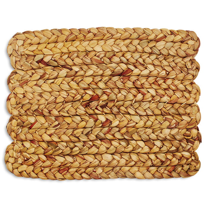 Braided Water Hyacinth Placemat