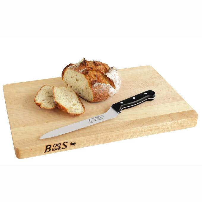 """John Boos & Co. Maple Cutting Board, 18"""" x 12"""""""