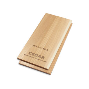 "5"" x 11"" Cedar Grilling Planks, Set of 2"
