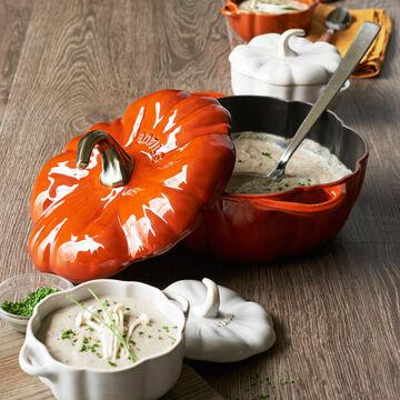 Staub Mini Pumpkin Cocotte, .75 qt