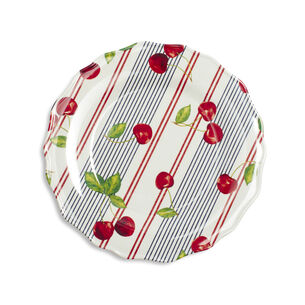 Cherry Melamine Dinner Plate