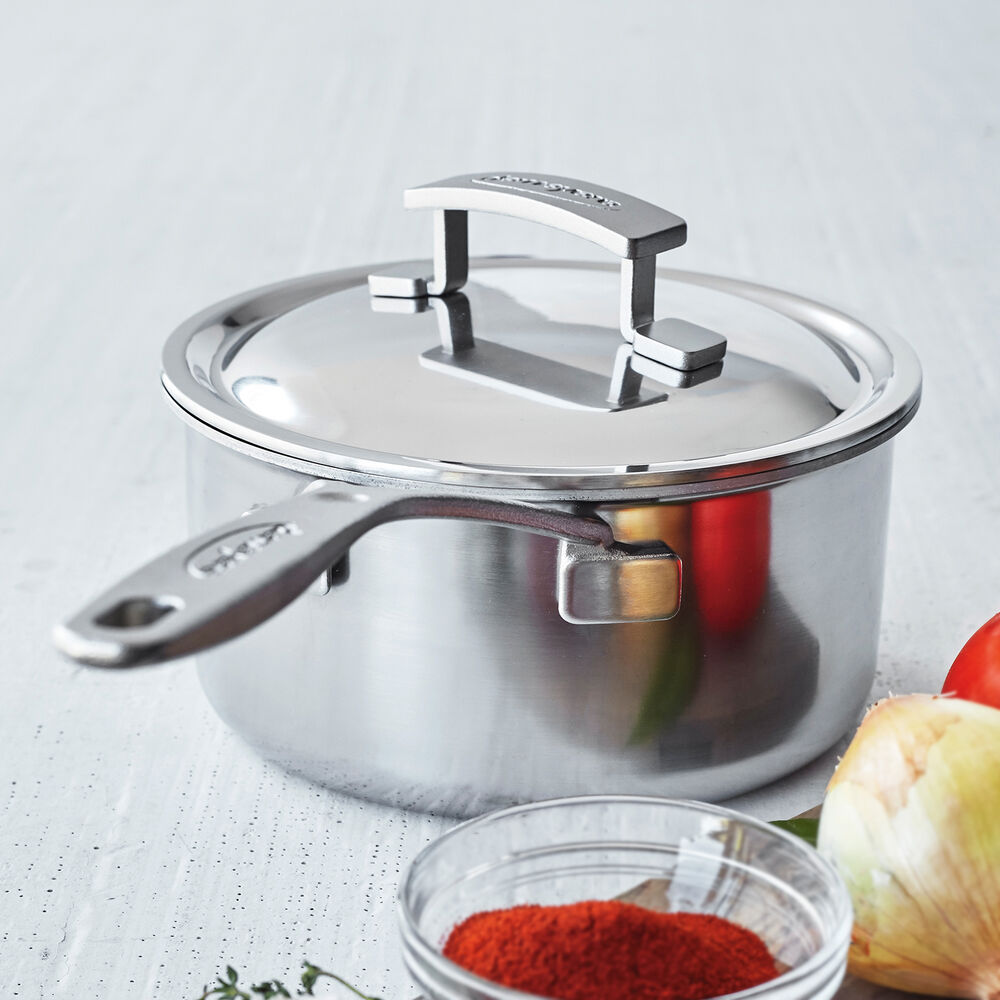 Demeyere Industry5 Saucepan with Thermo Lid