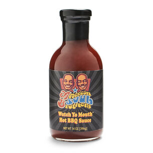 American Soul Brothers Watch Yo Mouth Hot BBQ Sauce