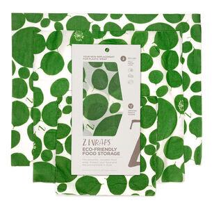 Z Wraps Leafy Reusable Beeswax Wraps, Set of 3