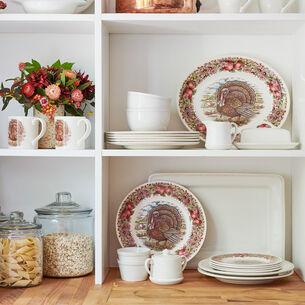"Royal Stafford Turkey Dinner Plate, 11"""