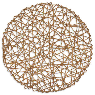 """Round Rope Placemat, 14.5"""""""