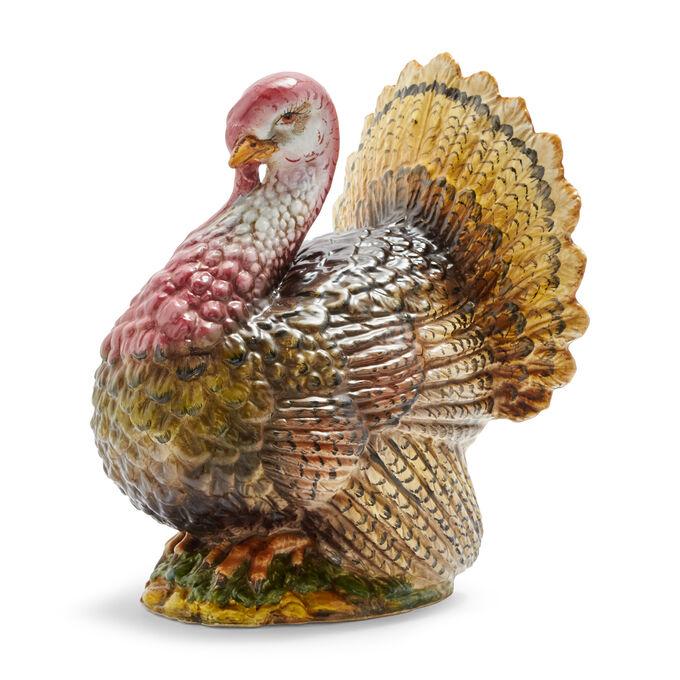 Ceramic Turkey Décor