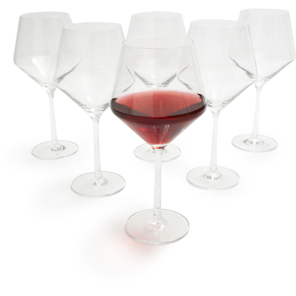 Schott Zwiesel Pure Light-Bodied Red Wine Glasses, Set of 6