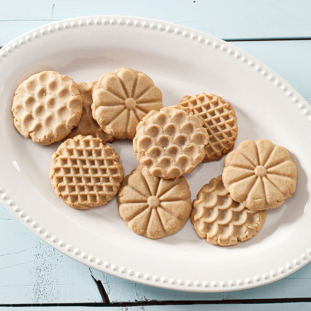 Nordic Ware Heirloom Cookie Stamps, Set of 3